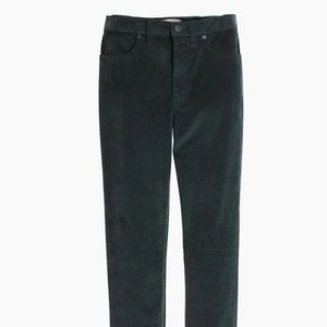 Madewell High-Rise Skinny Jeans Stretch Velvet